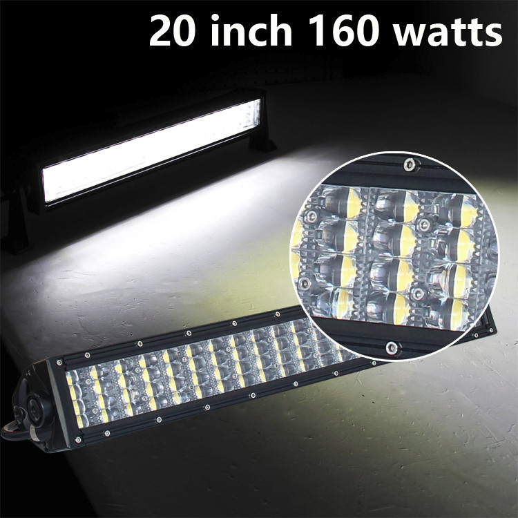 Accessories. Car 160 Watts LED Off Road Light 20 inch LED Light Bar