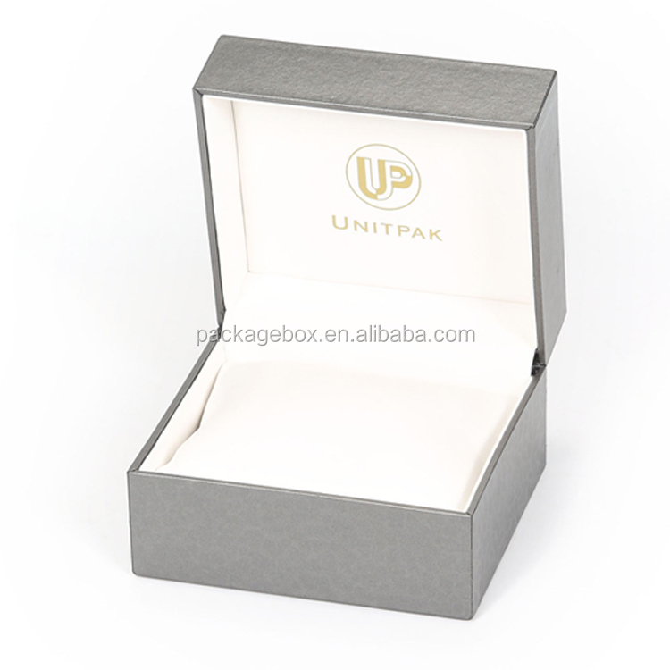 custom cardboard paper watch box/ handmade watch box with insert/ watch gift box china supplier