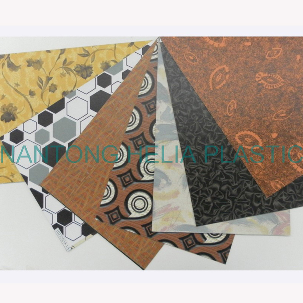 embossed leather PVC & PU with various embossing leather