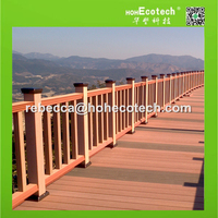 Manufacturer imitation wood fence, wood- looking fence, cheap fence of wpc material