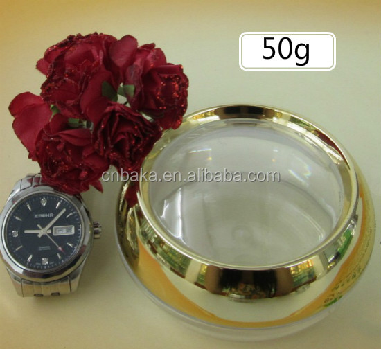 50g Acrylic capsule bottle 50g time capsule cream jar