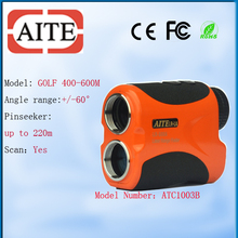 Golf Head 800 meter Aite Laser Golf Range Finder with angle and pinseeker Laser Rangefinder