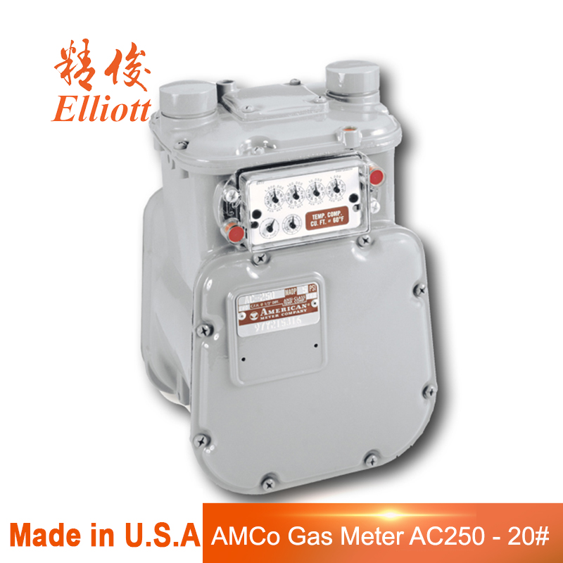 High Quality AMCo AC250 - 20# Gas Meter