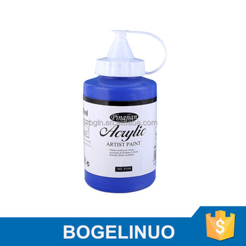 500ml professional artist using fine quality acrylic paint for artist