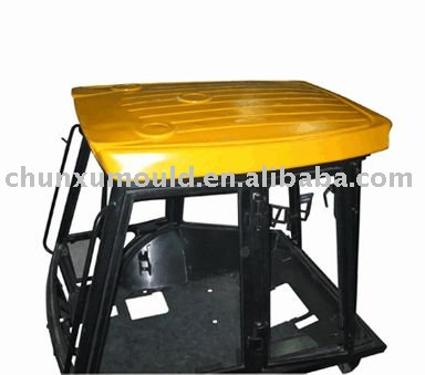 cast aluminium mould for roto molding Vehicle roof /top
