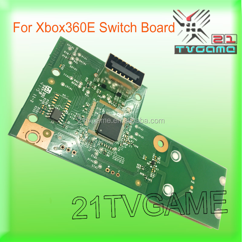 2017 Original Switch Board For Xbox360 E Green Color Board Replacement Switch Plate For Xbox360 E