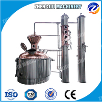 4 or 6 copper plate stainless steel reflux collumn still Milk Can Boiler/Milk Can Distiller Whiskey & moonshine distillery