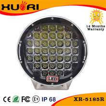 High quality XR 12v car ARB high intensity off-road 185w 9inch round led driving light