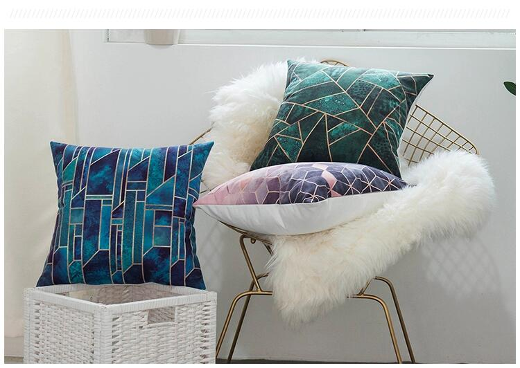 Hot design home decoration pillow cover room color cushion cover