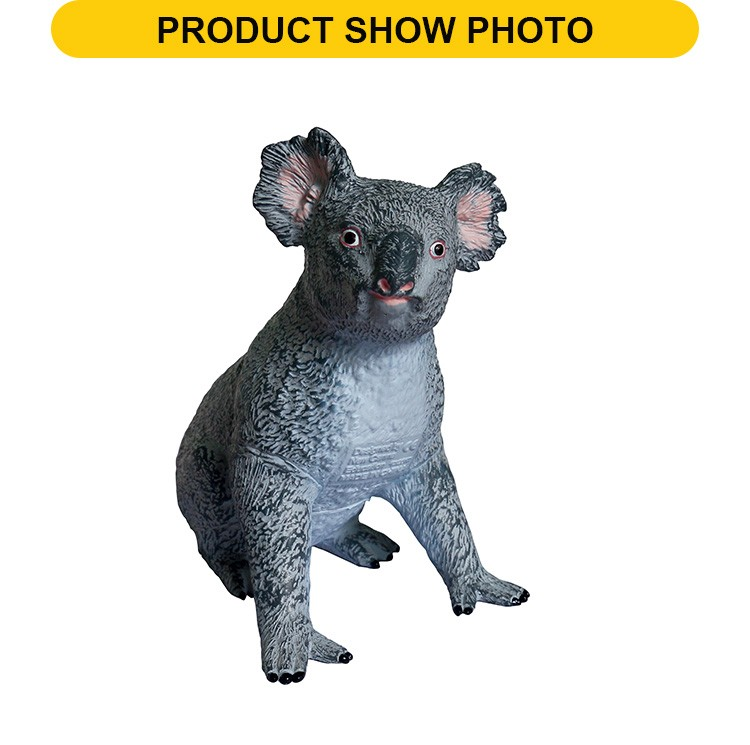Hot sale 7inch koala baby feature soft vinyl toys fof wholesale