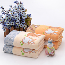 soft emboidery wholesale home textile China microfiber towel