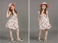 latest children frocks designs new fashion floral print girl frocks fancy