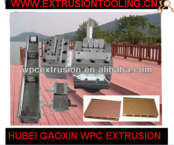Alibaba Express Extrusion Tool Maker for Wpc Hollow Skidproof Wood Parquet Tile Manufacturers