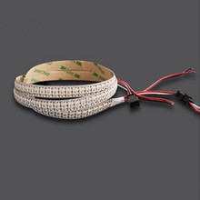 DC5V RGB WS2812 LED Strip 144LEDs/Meter Addressable Full Color Programmable WS2812B Pixel LED Strip