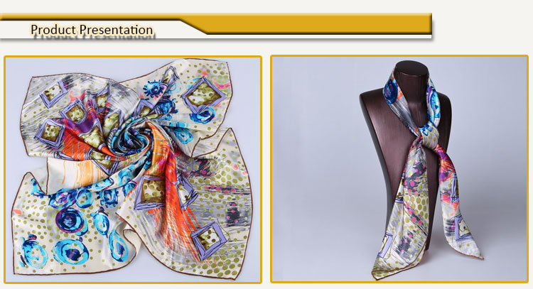2014 spring wholesale new twill silk scarf