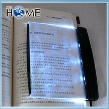 Battery Operated Black Flat Book Reading LED Light Wedge
