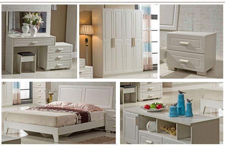 Diseño Simple de Lujo Hogar Moderno Muebles Del DormitorioConjunto
