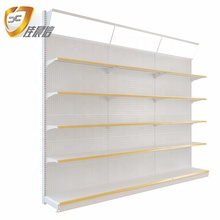 Single&amp;Double-sided Grocery Display <strong>Shelf</strong> /Rack Retail Shelving/Storage <strong>Shelf</strong> for Convenience Store