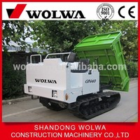Hot sale Wolwa GN40 2ton Mini Track Dump Carrier with high quality for sale