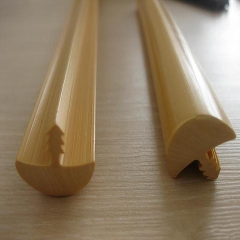Cabinet pvc plastic cabinet t molding furniture edging for Furniture t trim edging
