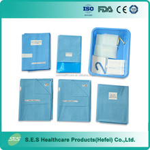 hospital CE ISO approved sterile single use maternity disposable mama kits