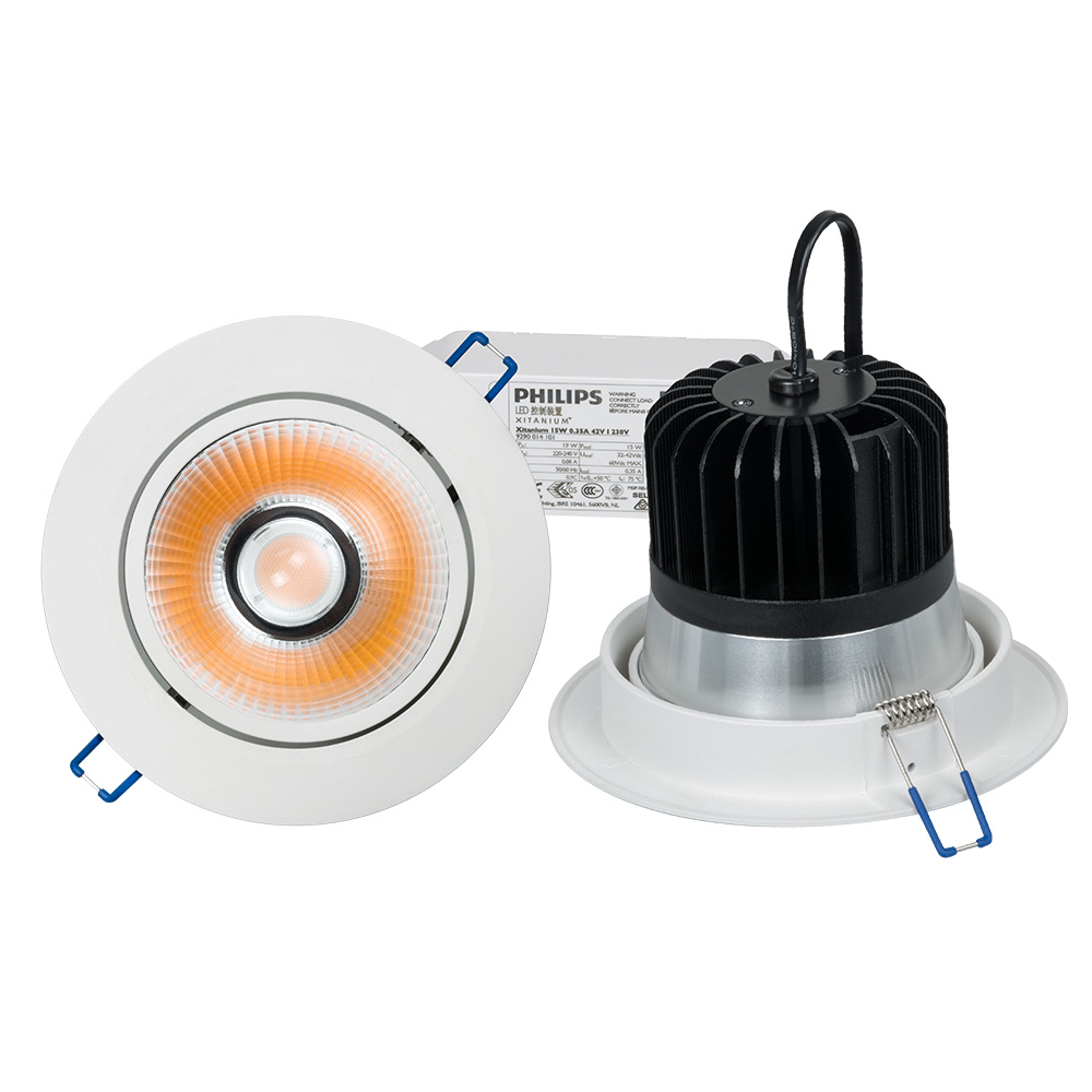 Modern trendy dimmable high output 2000-2500lm circular led ceiling lights