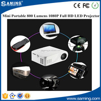 Newest Original X6 Mini Pico portable LED Projector HDMI Home Theater beamer multimedia projector Full HD 1080P video
