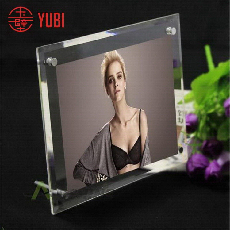 Quality stylish acrylic voice recording picture frame