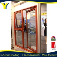 French doors / aluminium awning windows comply with Australian & New Zealand standards