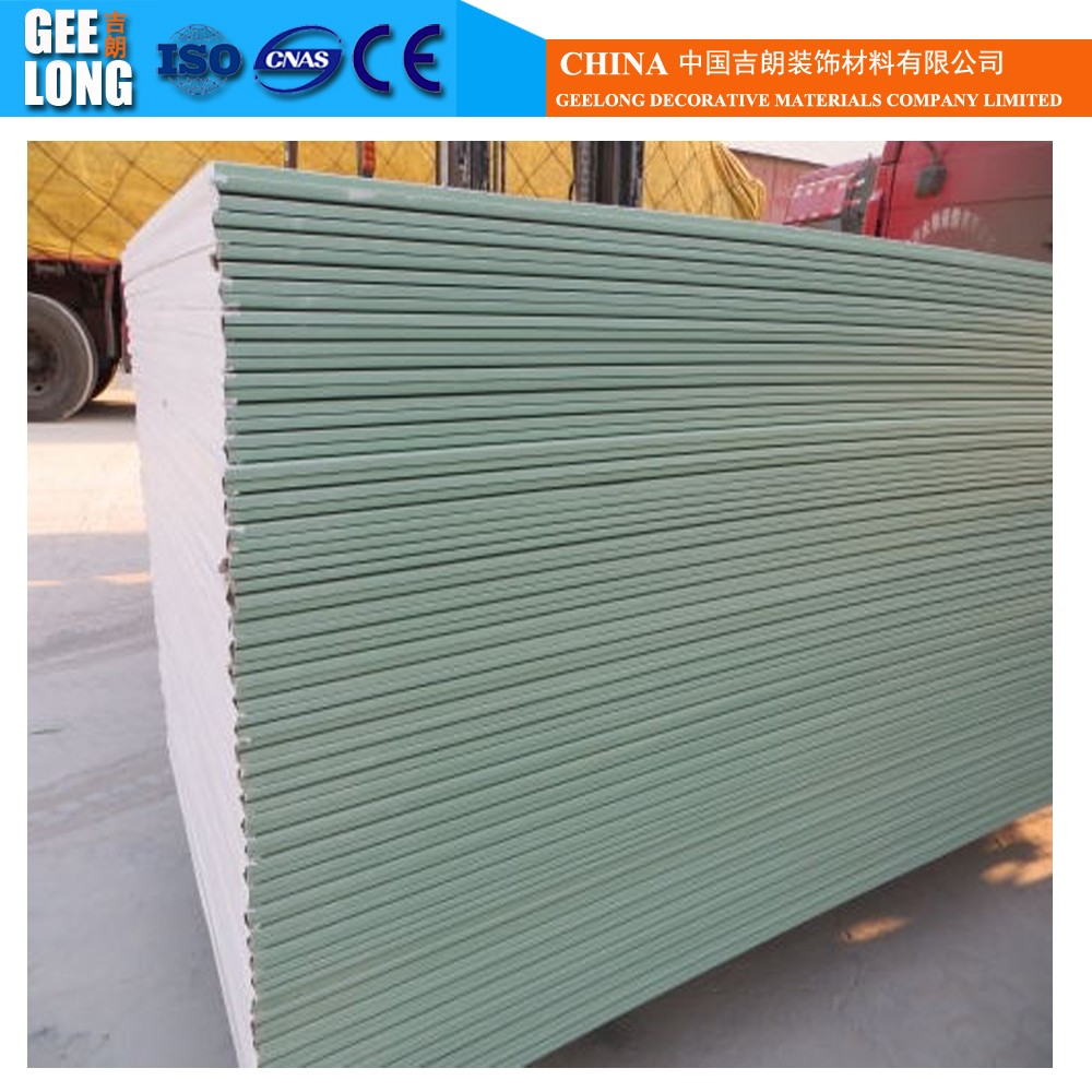 Common gypsum board/ interior wall panel / gypsum drywall for decorations