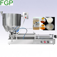 Cheap price heater mixer filling machine/cosmetic packaging machine