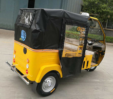 Closed Cabin Taxi Pedicab / Three Wheel Passenger Motorbike / Three-Wheeled Motor Tricycle