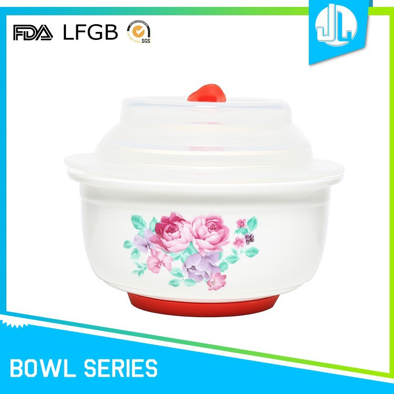 Customized various size microwave safe bowls with lids