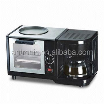 ATC-BM-6086C Antronic 3 in 1 Breakfast Maker Coffee Maker & Toaster Oven