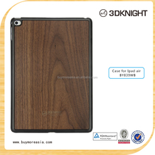 Fashion wooden cases for apple ipad air, wholesale for ipad case,for ipad air 2 case with custom logo and packing