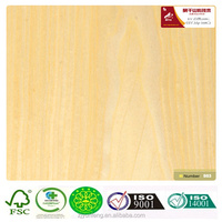 Engineered Veneer Canadian Maple Veneer for skateboards