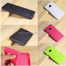 rubber soft silicone gel skin bumper ultra slim TPU case cover for HTC ONE M7