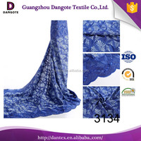 2016 Dangote new arrival african lace 100% cotton lace high quality swiss lace for wedding party 3134