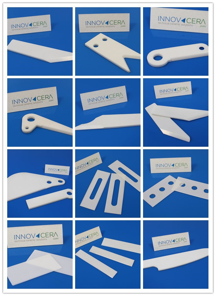 Zirconia Ceramic Cutter for Medical Device/Textile Industry/Paper/INNOVACERA