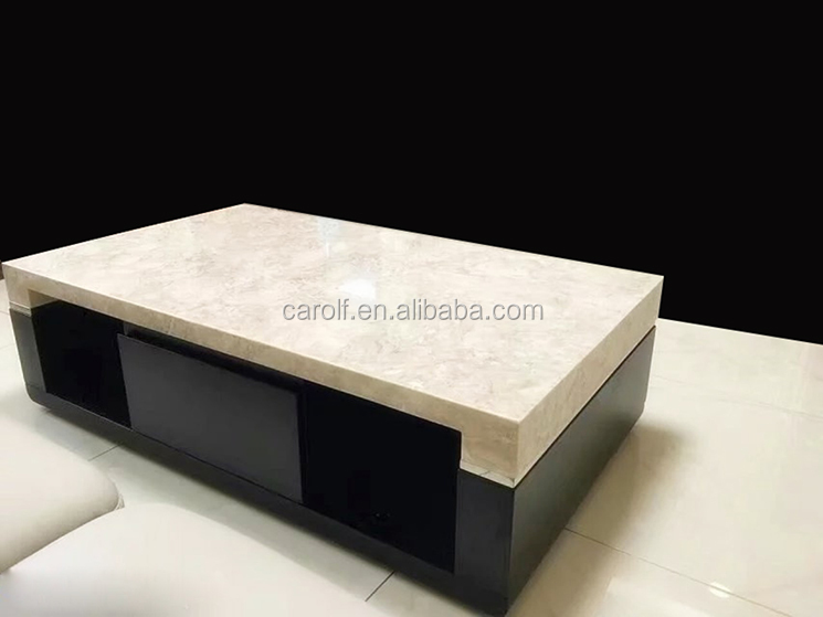 2017 Top Sale living room marble top centre table