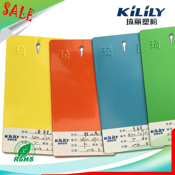 Factory Prices Ral Color Hybrid Glass Powder Coating
