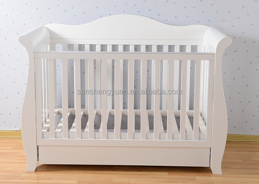 Wooden nursery furniture /wooden baby cot