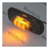 12V Smoked / Amber LED Side Marker Door Lights for Mega Cab 3500 Truck Trailer