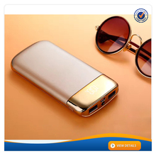 AWC467 New Design LCD Universal Portable Power Bank 10000mah Portable Charger