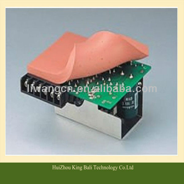 2013 new arrived Silicone Flexible suction wave plate