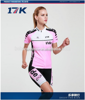 Women's Cycling jersey custom design road bike bicycle wear