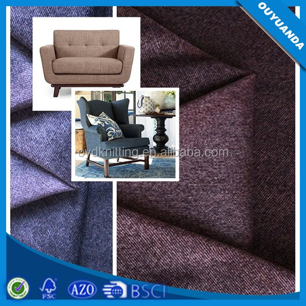 Chinese Upholstery Fabric Wholesale, Knitted Twill Printed Sofa Fabric