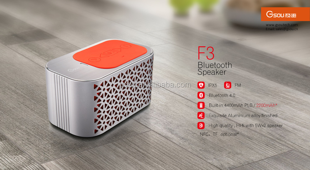 High quality subwoofer bluetooth speaker for mobile
