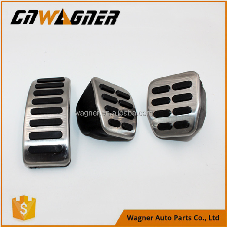 Car parts pedal pad kit for VW SKODA FABIA I II 1 2 MK1 MK2 OCTAVIA 1U I ROOMSTER