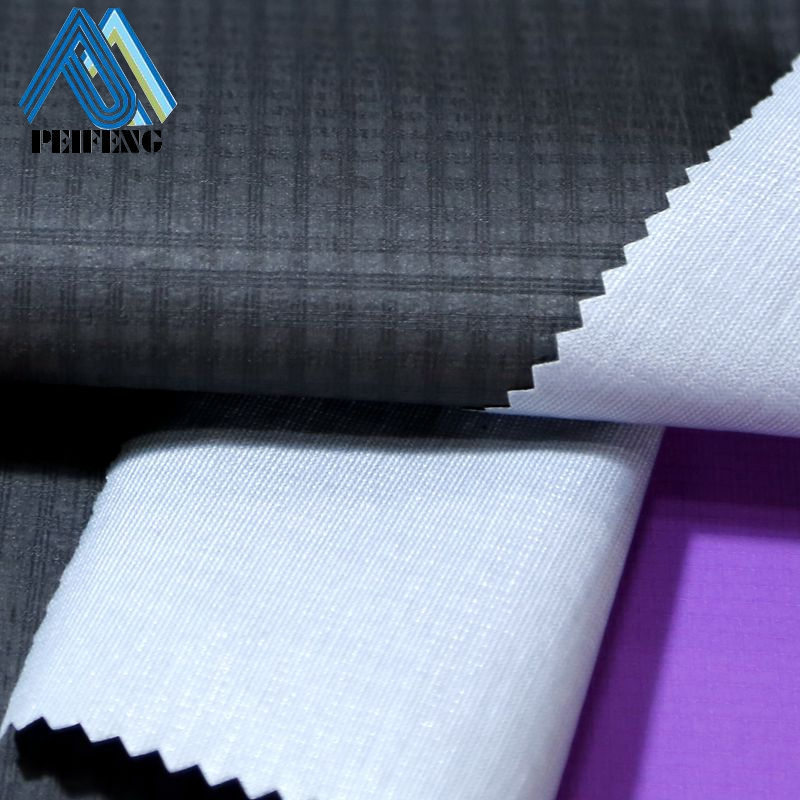 SNB2205 20D 100% nylon ripstop lightweight fabric 3-layer bonding thin waterproof nylon fabric